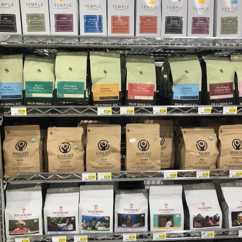 Local coffees at Comptons